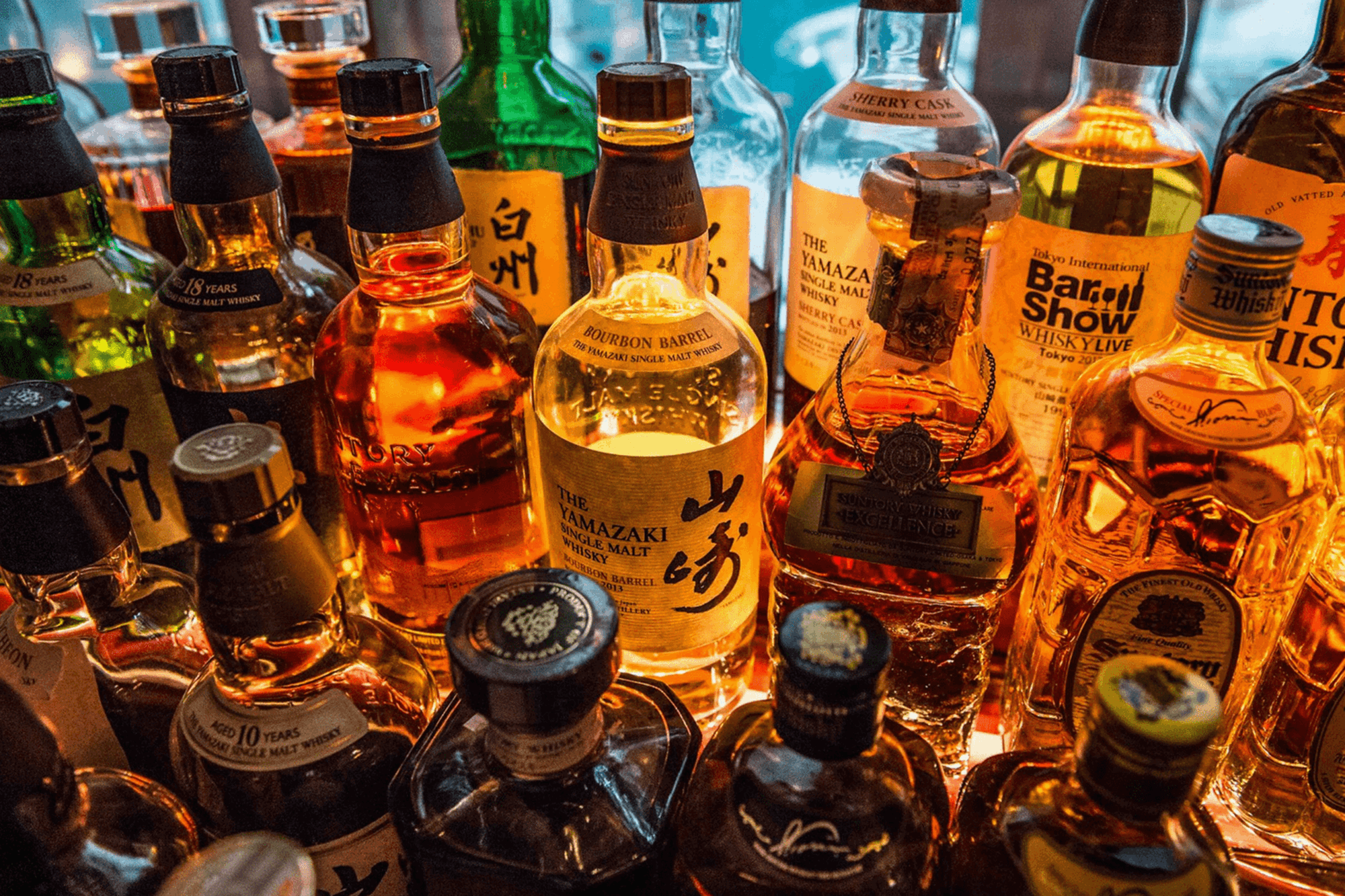 The Bar at Sexy Fish in Mayfair holds the world's largest whisky collection as well as serving inventive cocktails until late