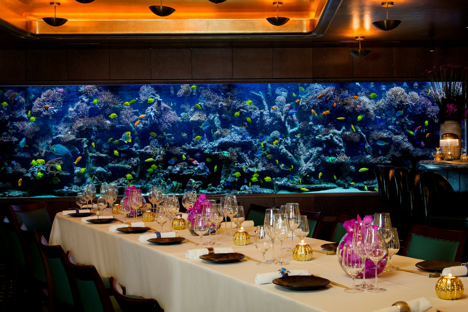 The Private Dining Room at Sexy Fish