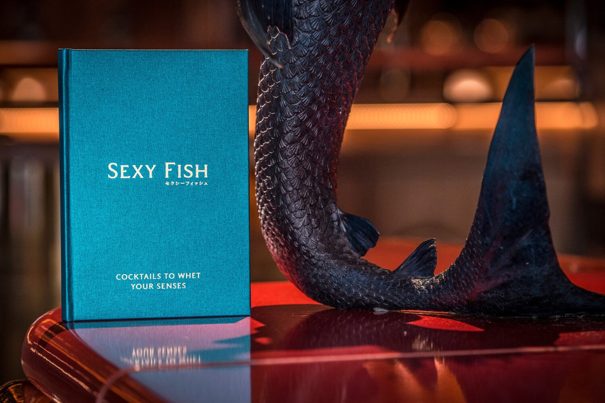 Sexy Fish is a late night bar in Mayfair serving cocktails