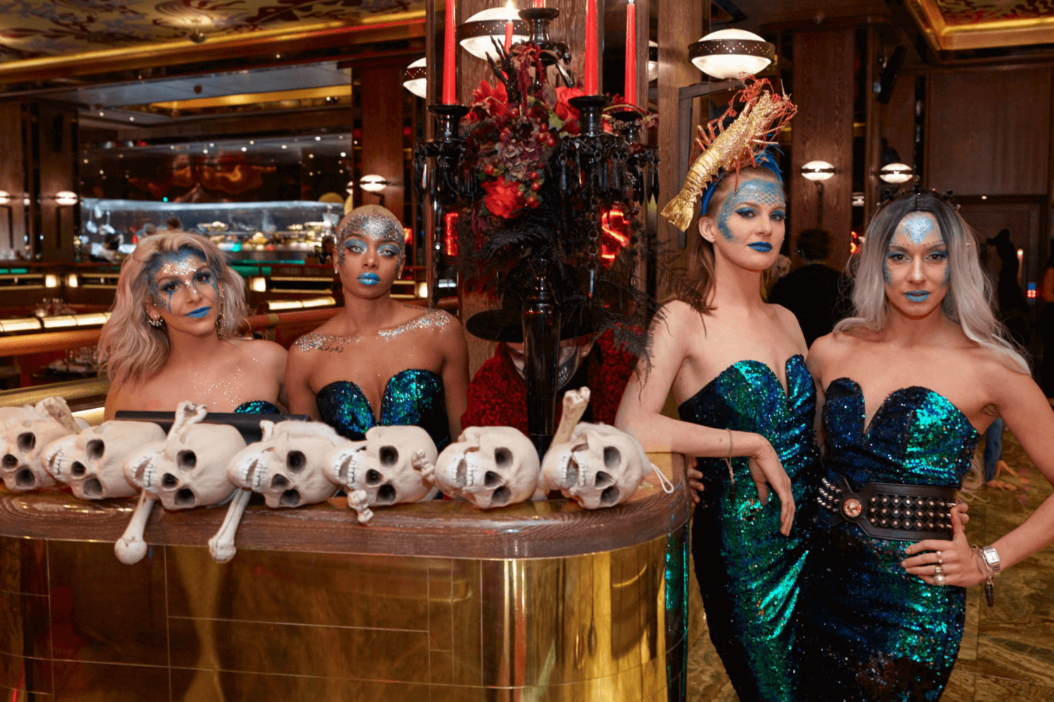 Halloween at Sexy Fish, Asian Restaurant and Late Night Bar in Mayfair