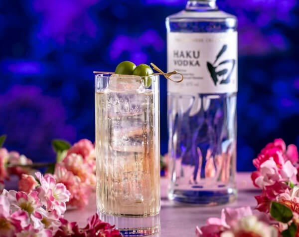 The Sexy Fish bar team has created a range of blossom inspired cocktails