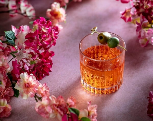 The Sexy Fish bar team in Mayfair have created a range of blossom inspired cocktails